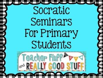 A brief explanation of Socratic Seminars The Internet is full of ideas for older students and how to use Socratic Seminars in the classroom. This guide is for younger kids! This product is not a training tool, but a guide and it will provide some focus questions and ideas to conduct the seminar.