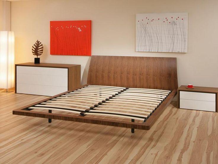 Die besten 25+ breites Doppelbett aus Holz Ideen auf Pinterest - kingsize bett im schlafzimmer vergleich zum doppelbett