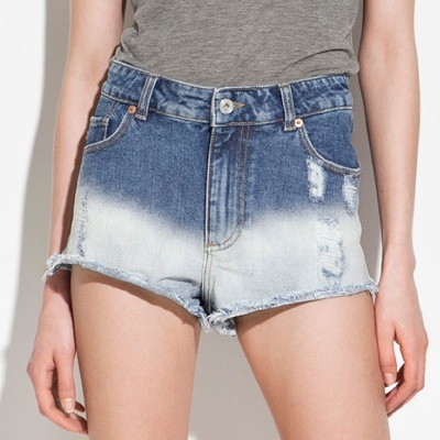 Ombre cutoffs? Yes please. -- Cutest Cutoffs via @FabFitFun: Ombrézara 2999, Miniskirt,  Minis, Cutest Cutoffs, Denim Cutoffs, Dyes Shorter, Ombre Cutoffs, Ties Dyes