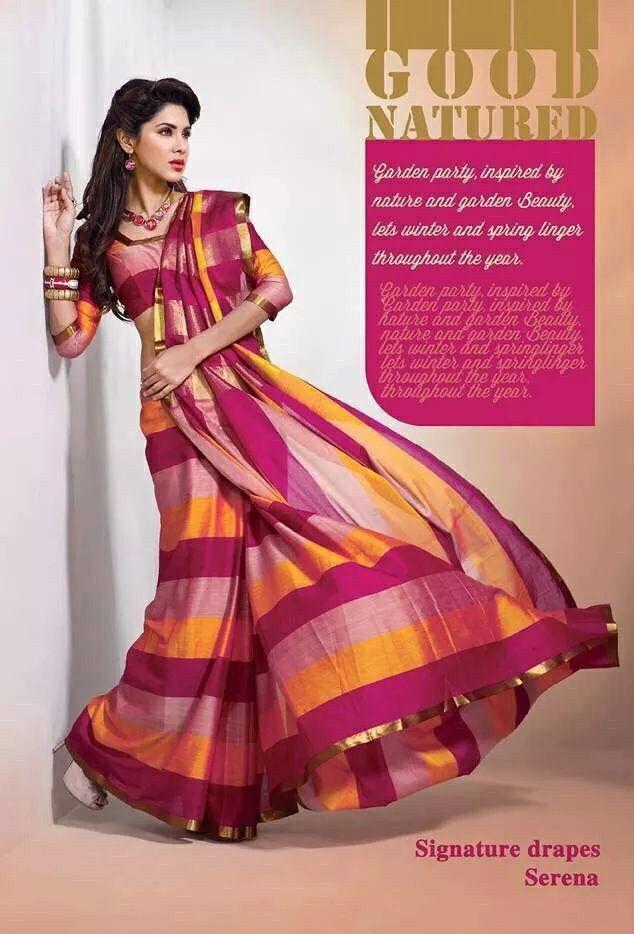 3 tone cotton saree