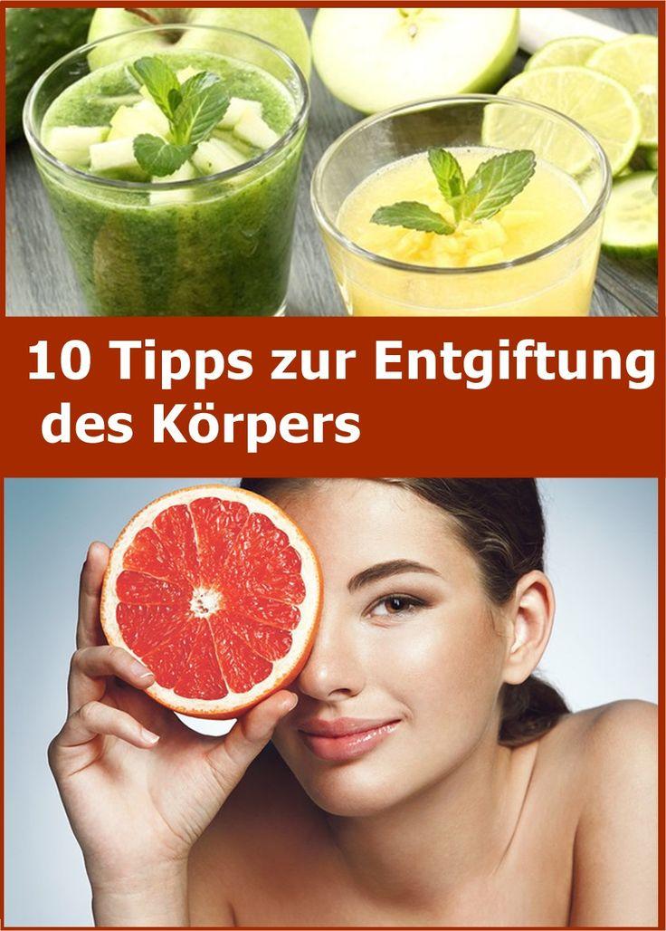 10 Tipps zur Entgiftung des Körpers | njuskam!