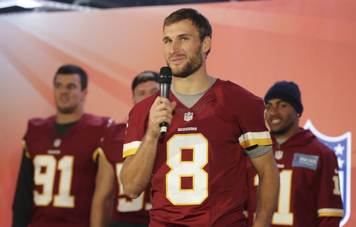 Kirk Cousins is the Redskins? quarterback of the future. Deal with it.