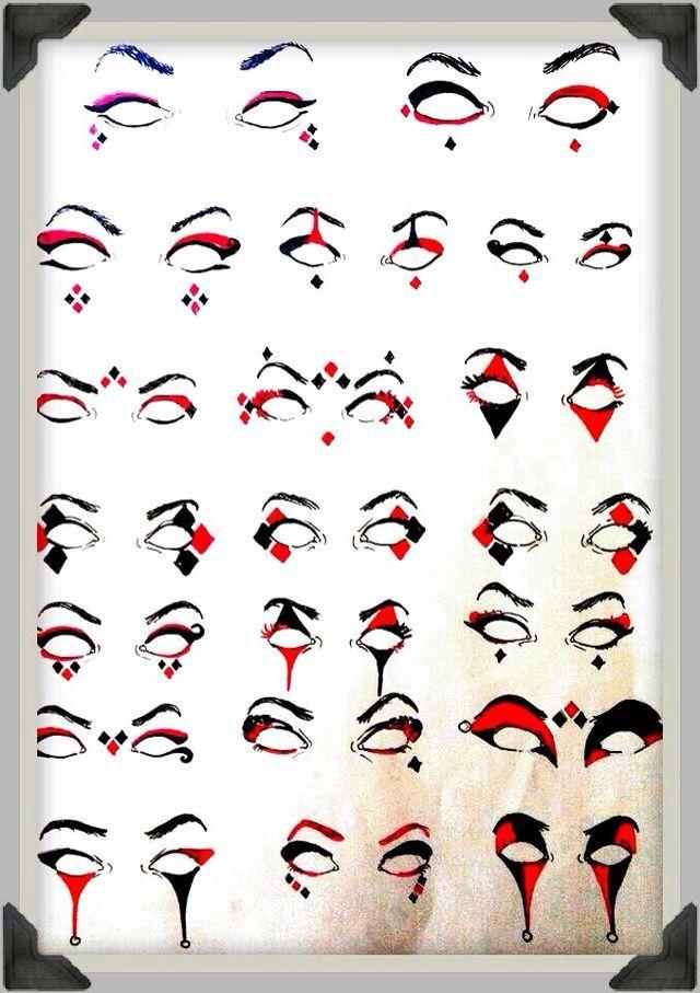 Pin by Allyssa Laluz on DC Comic Movies | Pinterest | Makeup, Joker and Harley quinn