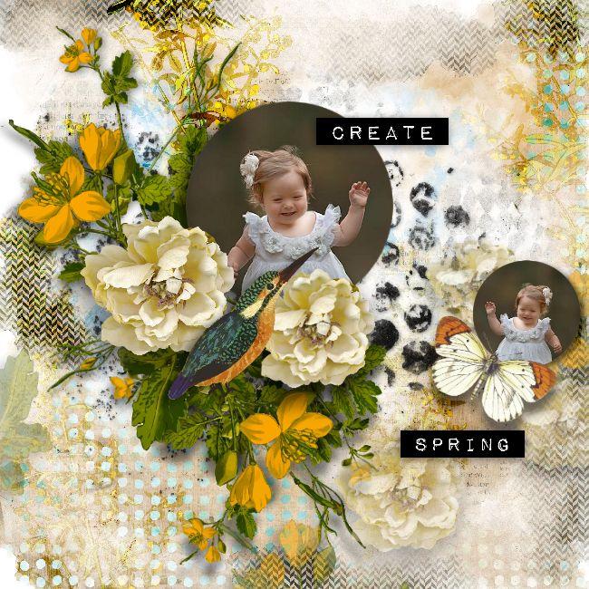 "I create Spring. With Aude Florju <3. Foto Iga Logan fotografie ©InadigitalArt2017 New collection "" ART JOURNAL "" 30% off http://www.oscraps.com/…/Art-Journal-Collection-PU-by-Florj… http://digital-crea.fr/shop/index.php…"
