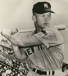 Rookie Mickey Mantle in spring training - March 22, 1951