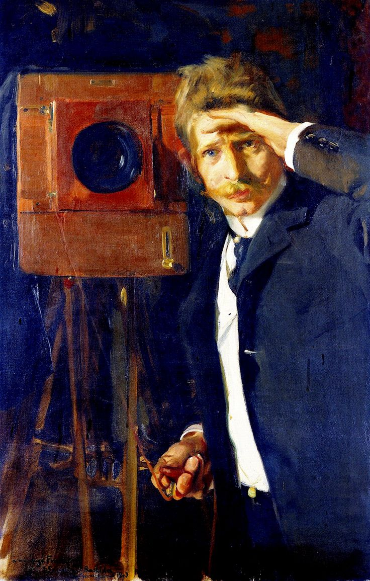 Joaquín Sorolla y Bastida (1863-1923). The Photographer Christian Franzen, 1903.