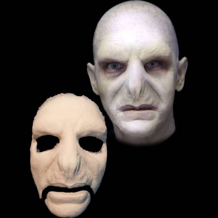 This Voldemort inspired foam latex prosthetic mask will transform you into a dark lord. This movie makeup.