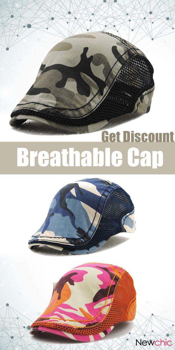 c4c2b5db85e Camouflage Mesh Cotton Cap.  cap  outdoor  travel