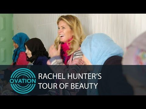 Rachel Hunter -- Goats and Argan Oil - YouTube