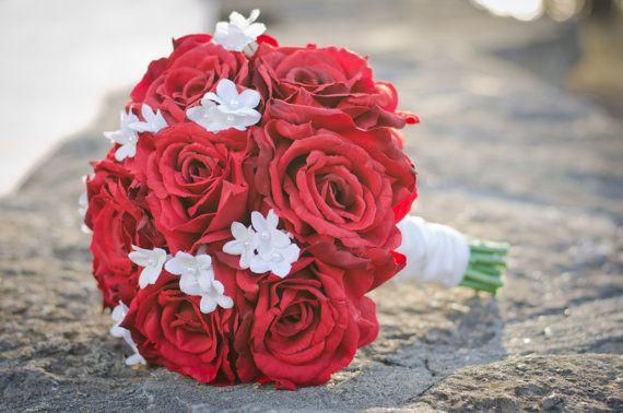Wedding+Flowers+Wedding+Bouquet+Keepsake+by+Hollysflowershoppe,+$150.00