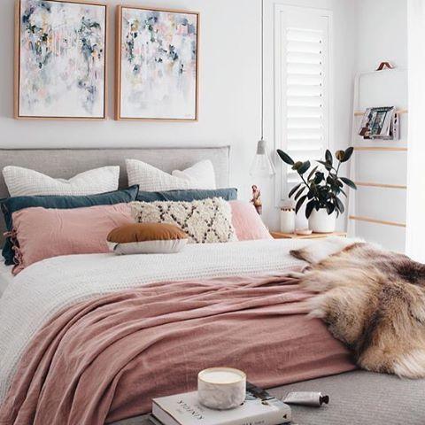 The 25+ best Dusty pink bedroom ideas on Pinterest | Dusty ...