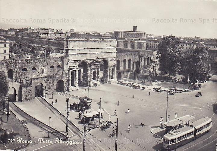 Foto storiche di roma porta maggiore roma sparita - Rome porta maggiore ...
