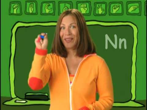 Learn to finger spell the alphabet and numbers with Rachel Coleman from Signing Time! Visit www.signingtime.com for more videos. Pinned by Personal Touch Therapy    Learn how signing helps improve learning for children of all ages at www.signingtime.com/research.