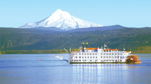 Queen-of-the-West:  travel the Columbia River through Washington and Oregon