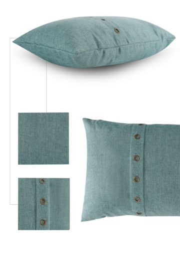Textured Eyelet 40x60cm Scatter Cushion