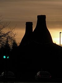 Stoke-on-Trent - bottle ovens