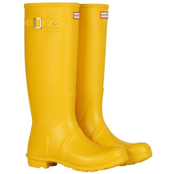 wish list ❤ liked on Polyvore featuring shoes, boots, tall boots, yellow rain boots, yellow shoes, yellow wellington boots and rain boots