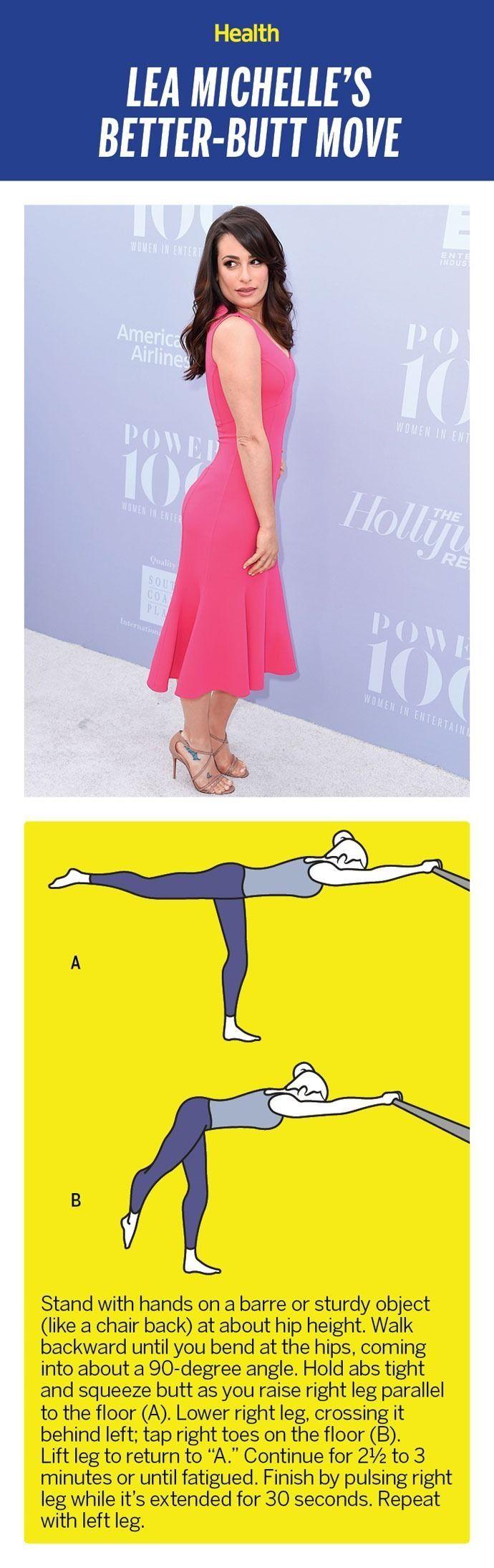Get a booty like Lea Michele. | Health.com