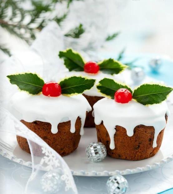 cupcakes navideñas