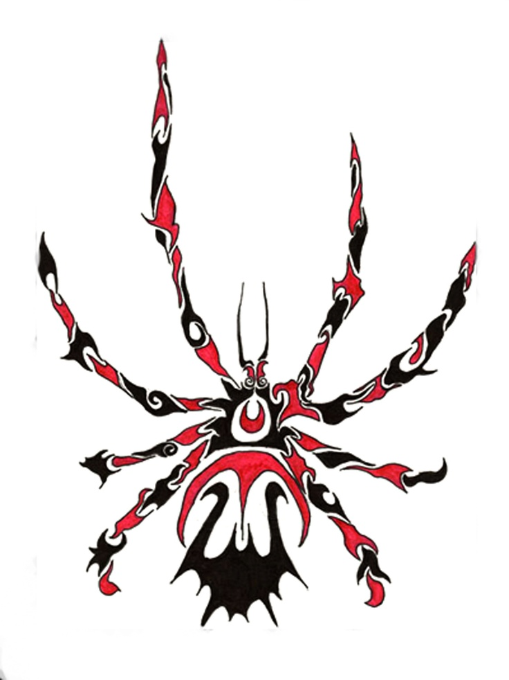 17 Best images about Tribal Spiders on Pinterest | Scary ...