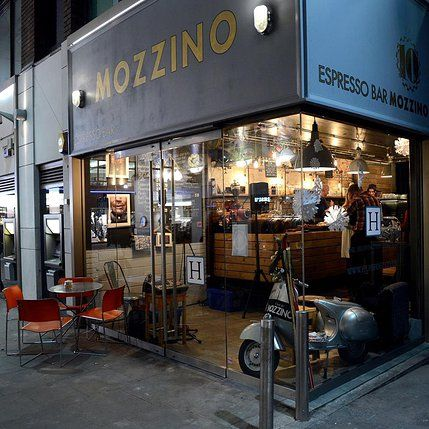 Espresso Bar Mozzino | 74 BROADWICK STREET - LONDON