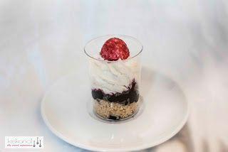 Blueberry Cheesecake Verrine