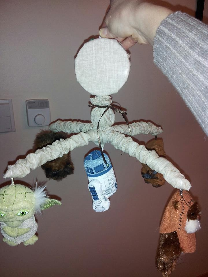 Handmade Baby Star Wars Mobile Kids Pinterest Babies And Nursery
