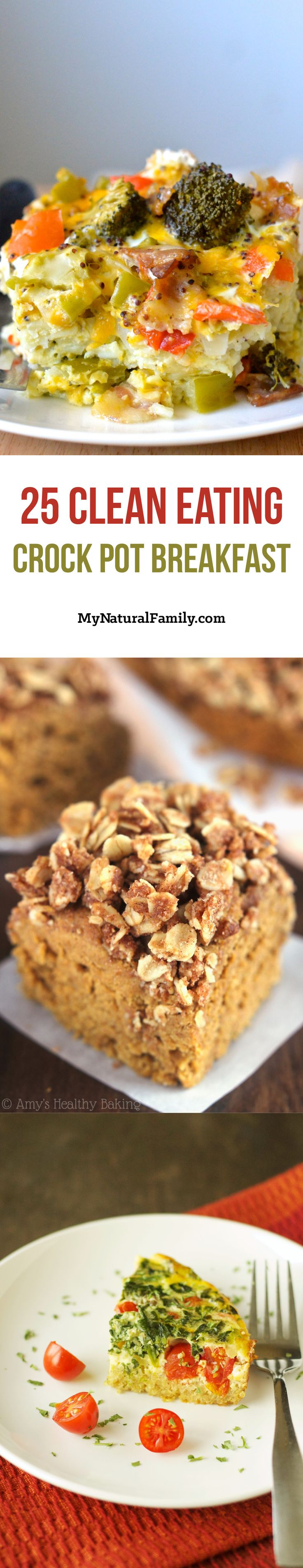 25 Easy Clean Eating Crock Pot Breakfast Recipes - Wake Up to A Delicious Meal!