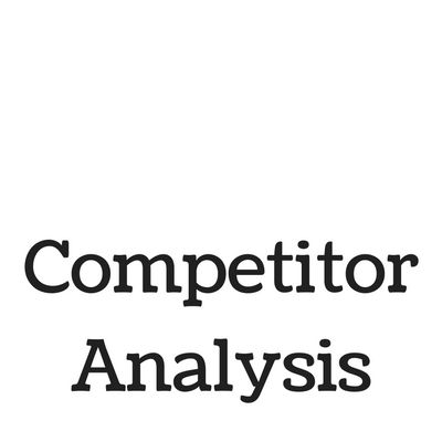 87 best Competitor Analysis images on Pinterest Competitor - competitive analysis sample