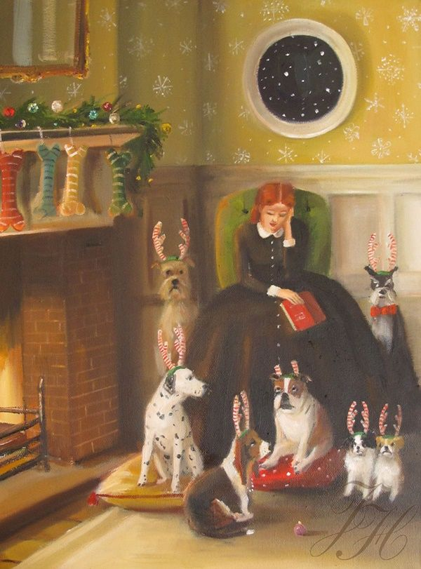 ~ Janet Hill ~ Christmas: A Miss Moon Christmas                                                                                                                                                                                 Plus