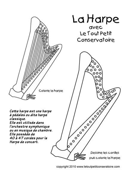 La harpe classique                                                       …