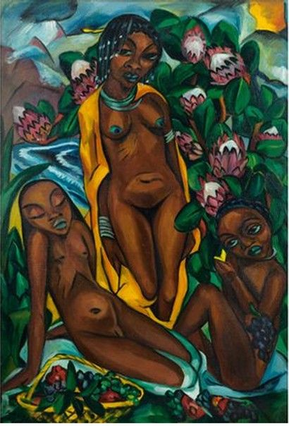 Irma Stern Composition