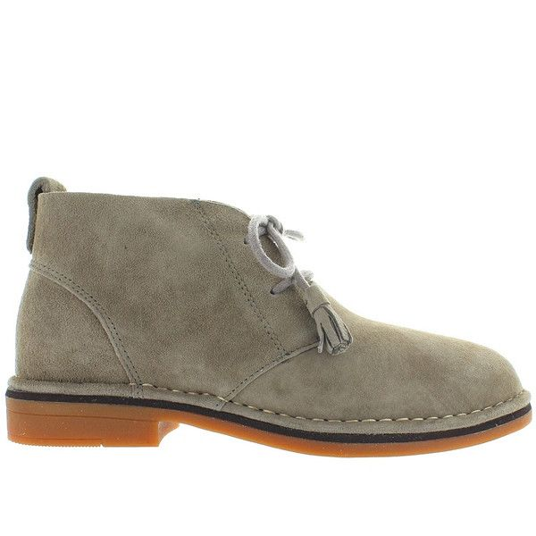 Hush Puppies Cyra Catelyn - Taupe Suede Chukka Boot