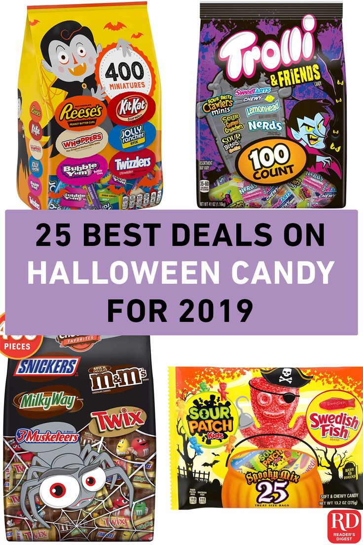 The 25 Best Deals on Halloween Candy for 2019 | Halloween ...