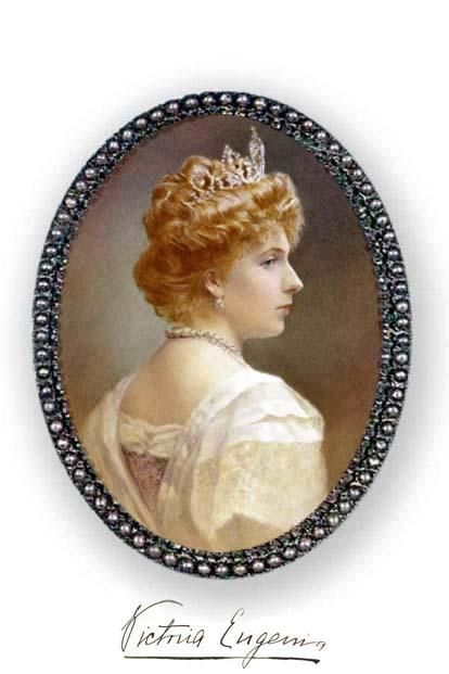 Miniature: The Queen of Spain / La Reina de Espana Victori… | Flickr