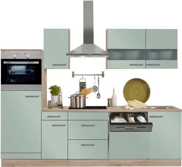 Kuchenzeile Kalmar Ohne E Gerate Breite 270 Cm Kitchen Home Decor Decor