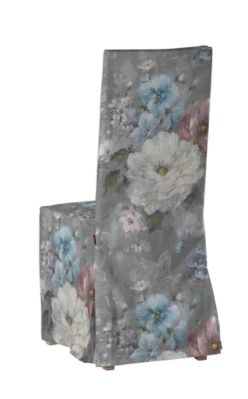 Sukienka na krzesło Börje bez wiązań krzesło Börje w kolekcji Monet, tkanina: 137-81