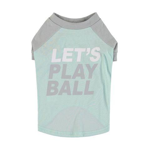 Pet T-Shirt - Medium, Mint and Grey