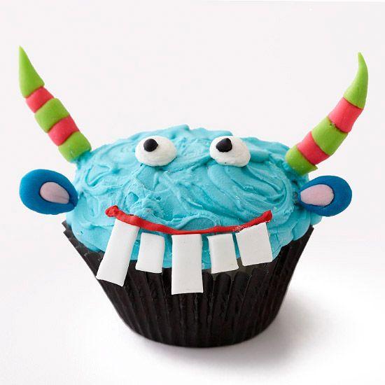 Cupcake Monstruo Azul