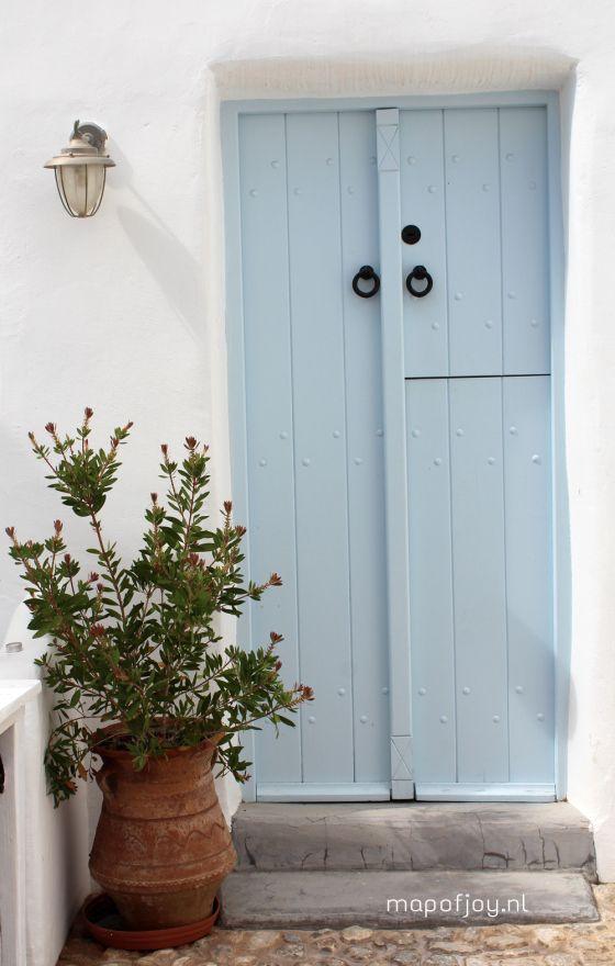 Villa Ivi, Santorini, Greece - Map of Joy