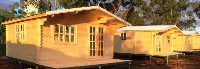 , the construction of log cabins in Australia has become very easy and simple because of the availability of of ready-to-erect log cabin kits.