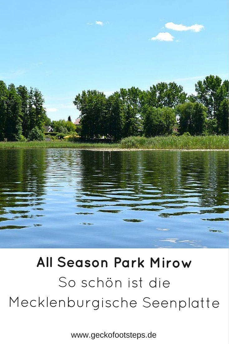 Die Mecklenburgische Seenplatte ist eine einzige Naturidylle und eignet sich perfekt für eine Familienreise. Im All Season Park Mirow, direkt am Granzower See, haben wir uns pudelwohl gefühlt.