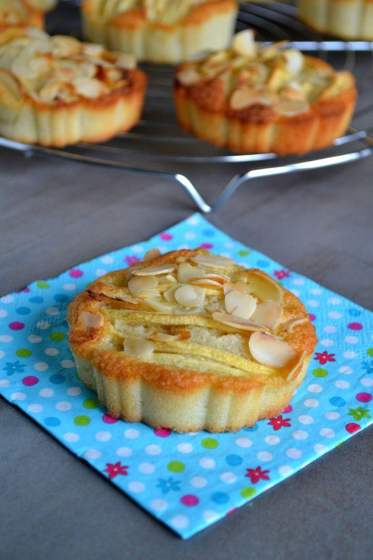 Tartettes amandines aux pommes