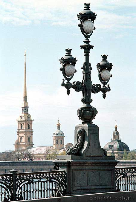 Trinity Bridge, Saint Petersburg, Russia