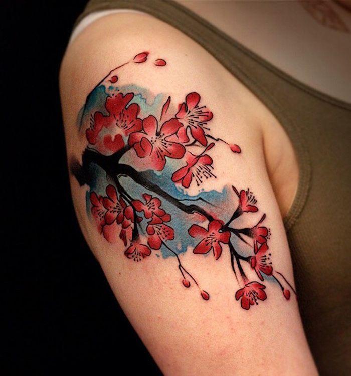 die besten 25 tattoo schulter frau ideen auf pinterest tattoos schulter lotus tattoo. Black Bedroom Furniture Sets. Home Design Ideas