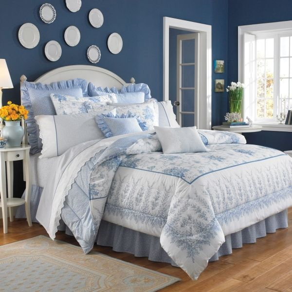 Cottage Bedroom Laura Ashley Bedding Bedrooms Pinterest