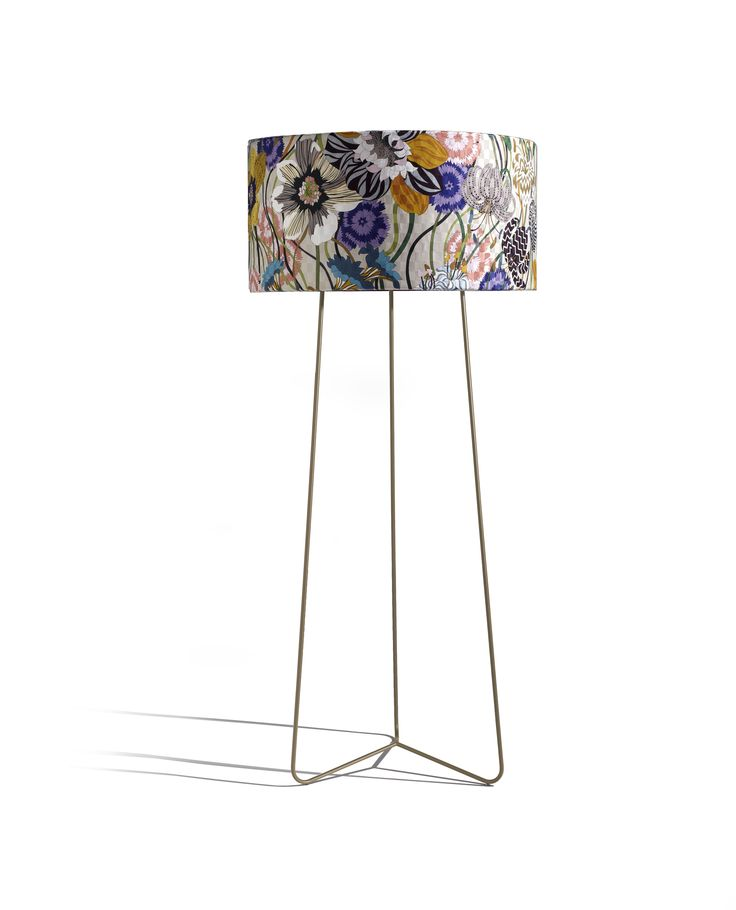 Sophie New floor lamp by MissoniHome Studio removable upholstery