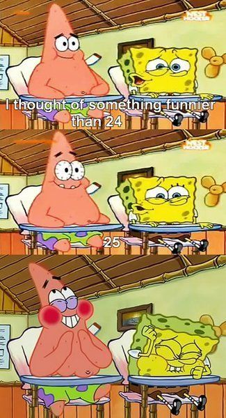Love it :)  I flipping love this episode! Patrick goes to boating school with Spongebob and they become class clowns! Hilarious. #big kid at heart