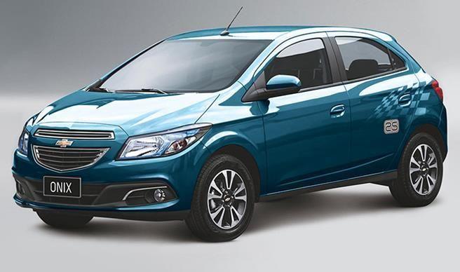 Novo Chevrolet Onix mais vendido do Brasil