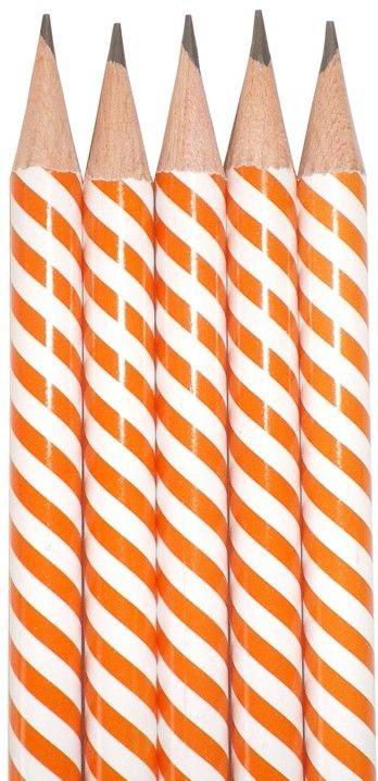 Speckle Farm Pencils Swirl Orange